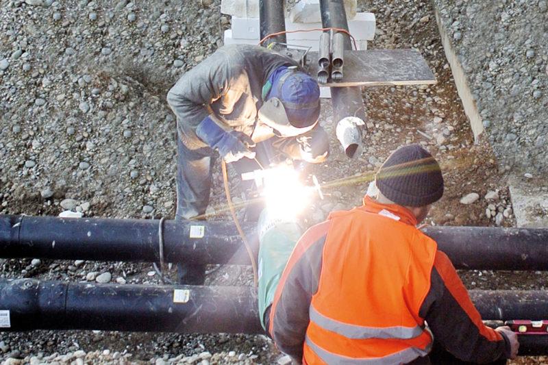 Rohrleitungsbau mit AGFW-Zetrifikat
