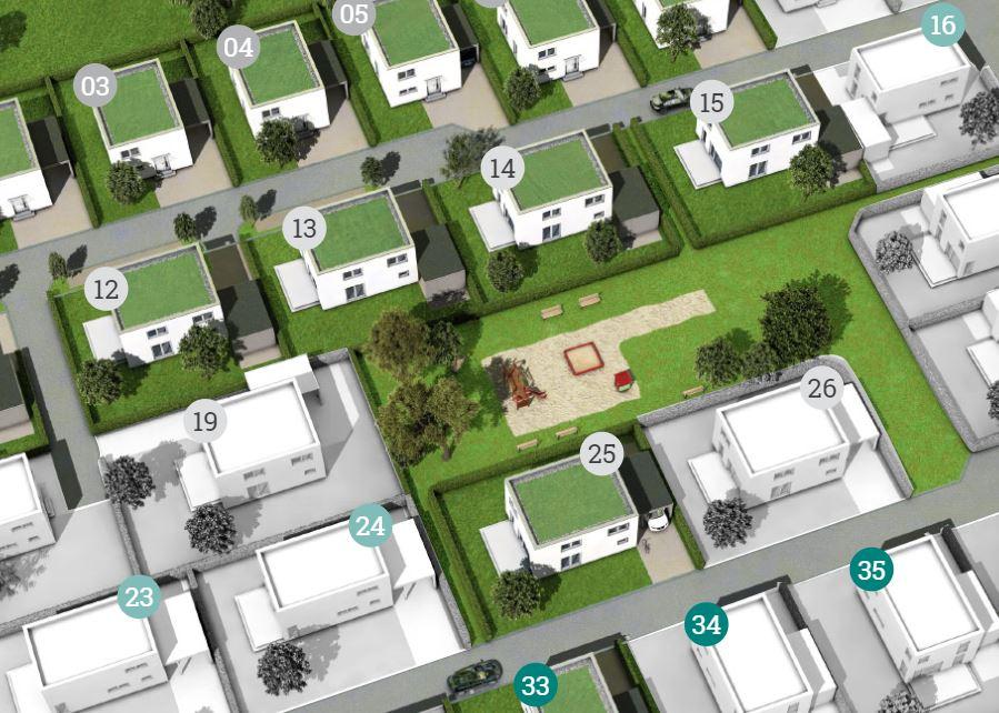 Visualisierung Neubaugebiet Neue Priel